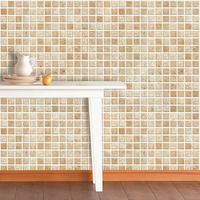 Free shipping Fixsheet oil bathroom tile waterproof wallpaper mosaic wallpaper