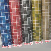 Free shipping Fixsheet bathroom waterproof stickers oil wallpaper mosaic tile