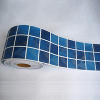 Free shipping Fixsheet bathroom kitchen tile waistline stickers mosaic waterproof stickers tijuexian tb