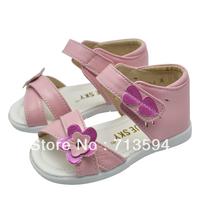 Bluesky leather sandals children shoes girls shoes genuine leather female child sandals 6102