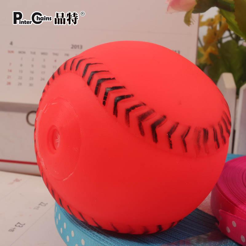 free shipping Pet toy ball saidsgroupsdirector pet sound ball dog elastic ball rubber ball(China (Mainland))
