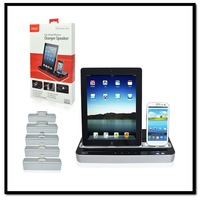 iPEGA Speaker Amplifier+Dock Charger Stand For Samsung GALAXY S2 S3 S4 Note2/ iPhone 4 4S 5 5S/ For iPad 2 3 4 mini/iPad Air 5