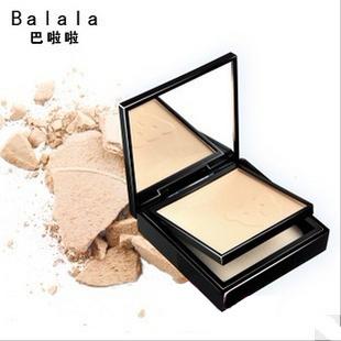 free shipping 5pcs Guangcai balala compact powder in impeccably 15g concealer antioxidant(China (Mainland))
