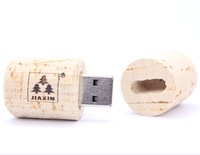 Free shipping red wine cork usb flash drive promotional gift