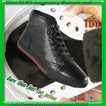 Men's shoes hot sell Dermis brand shoes men's fashion casual warm shoes, hiking shoes #gc3002 SIZE 38-44 Head layer cowhide