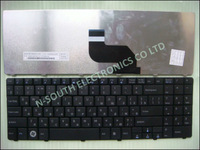 Free shipping black RU laptop keyboard for asus H36 clavier russian