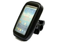 Bike Bicycle Waterproof Phone Zipper Case Bag Pouch Handlebar Mount Holder for S3 I9300 S4 I9500
