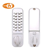 Zinc alloy keypad mechanical door lock model 300