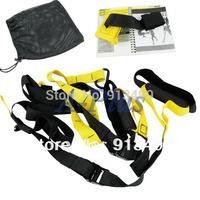 New Home Exerciser Training Fitness Equipment Hanging Belt Resistance Set 12309