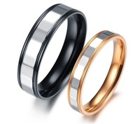 Free Shipping fashion romantic couple rings trendy lover rings