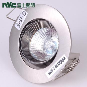 Led spotlight ceiling light downlight 4w full set led wall lights trepanned 70-75mmndl841