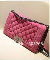 Free shipping new handbag chain bag Quilted shoulder bag Europe
