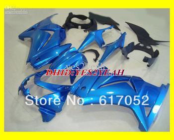 K400 MOTO Blue Fairing for KAWASAKI Ninja ZX250R 08-12 ZX 250R 2008-2012 ZX-250R EX250 08 09 10 11