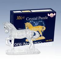 Horse 3D Crystal Jigsaw Puzzle 100Pcs
