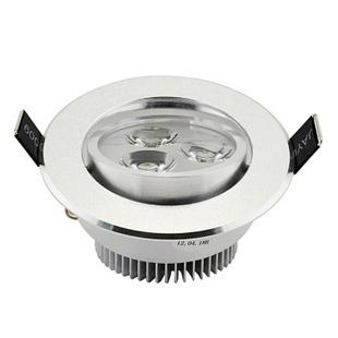 Led spotlight ceiling light 3w wall lights downlight bull's-eye lights spotlights full set of super bright