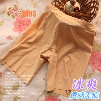 Cool basic seamless shorts seamless shorts female boxer panties safety pants 9