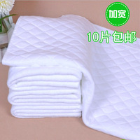 Broadened 10 baby thickening cotton diapers baby newborn folding 100% cotton diapers 1 2