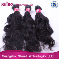 high quality tangle free no shedding natural wavy peruvian hair