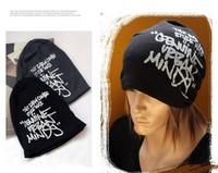 2013 Fashion Korean Hip-Hop Winter Hat Letters Knitting Caps Fashion Beanie Headwear 4 Colors HTZZM-008
