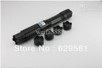 lasersLight Cigratte 1000MW 1W adjustable focus blue laser pointer+5 * laser heads + glasses+Battery+Gift