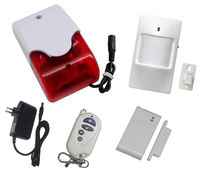 Wireless Siren alarm,siren system,strobe siren system,wireless home siren alarm,433 /315 for home security alarm system