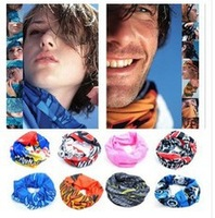 Hot! New Multifunction Changeable Magical Men/women Outdoor Bicycle Windproof Sun Protection Headband scarf /mask Wholesale