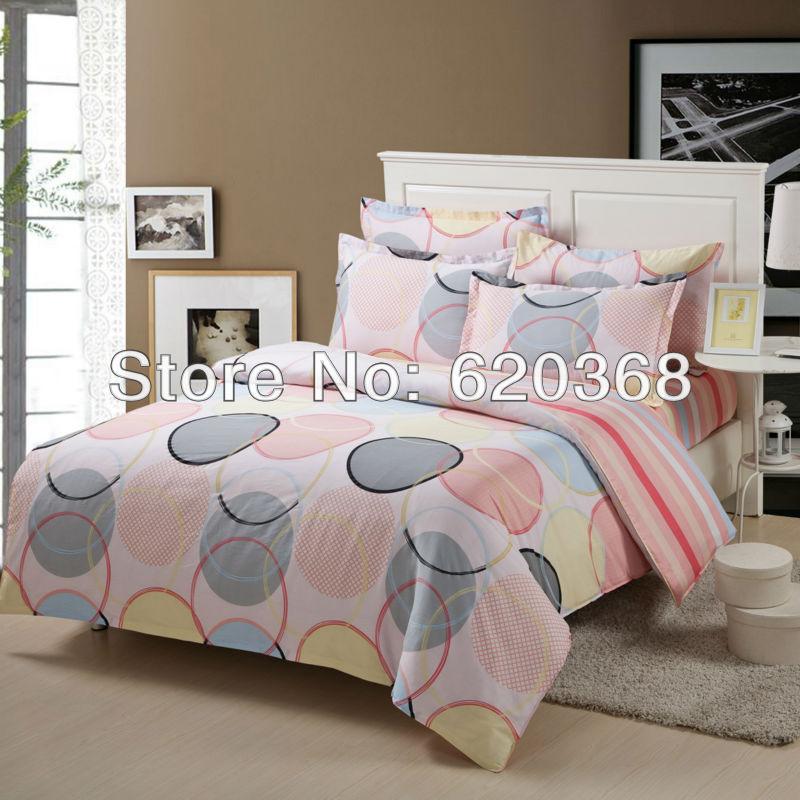 4pcs / set venda quente 100% conjunto de cama de algodão / tampa de cama / colcha / cama folha / folha macia set / de luxo duvet conjunto de capa(China (Mainland))