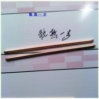 diy pure copper heat pipe heat pipe diameter 8mm * 420mm