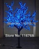 1.8M 864PCS Blue LED Outdoor Artificial Cherry Blossom Tree Light