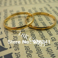 Wholesale - 10pcs/lot Women's Jewelry 18k gold plated rings fashion ring brand ring gold color size 6/7/8/9/10/11/12/ R8