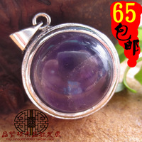2014 New Arrival Floating Locket Coupon For Pingente Wholesale Free Shipping Natural Crystal Amethyst Necklace Pendant Jylp0431