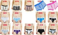 ^_^ 1pcs  fashion cotton men's underwear :  notes modles number in order messages