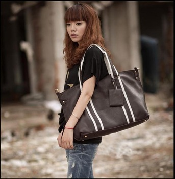 Top Quality Womens REAL LEATHER HANDBAG shoulder bag Tote NEW Genuine Leathen Free Shoes
