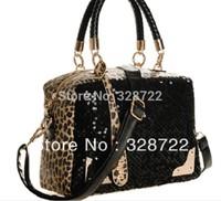 Free Shipping ! Free Shipping ! 2014- 2013 Bestseller!! fashion ladies' leapord sports handbag