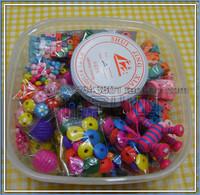 Diy materials beaded necklace material kit big wooden bead set c1140