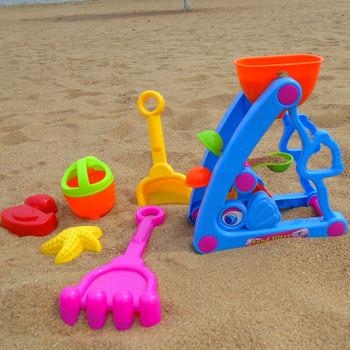 child beach tool hourglass sand tools child atv toy set summer beach
