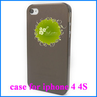 Free Shipping Silicon Case Cover Protective Pouch For Apple iPhone 4G 4S New