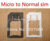 Cheapest Micro Sim Adapter, Micro to Normal Sim Card  Adapter Adaptor 1000pcs/lot