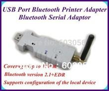 100 meters Bluetooth Standard 2.1 + EDR USB Port Bluetooth Printer Adapter / Bluetooth Serial Adaptor