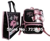 Hello Kitty children under 3 grade pupils reduce shoulders heavy backpack bag handbag schoolbag