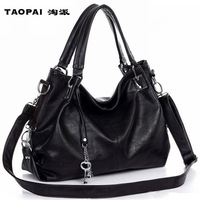 2013 women's handbag all-match shoulder bag cross-body fashion black casual