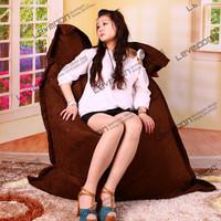 FREE SHIPPING 140*180CM bean bag chair cover coffee bean bags no filling beanbag sofa cover lounger sofa stool