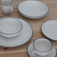 Ceramic dinnerware set western-style bone china dinnerware set denby5 piece set dishes mug