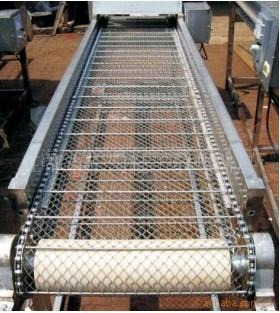 galvanized wire mesh conveyer belt