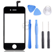 Replacement For iPhone 4 4S Front Digitizer Touch Outer Glass Lens Screen With Free Tools Free Shipping   NP00710