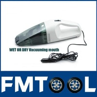 Free Shipping for 90W Super Suction Mini 12V High-Power Wet and Dry Portable Handheld Car Vacuum Cleaner in stock now