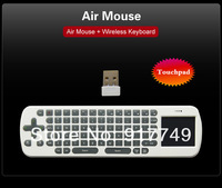 Free shipping  Measy RC12 Multi Air Mouse 2.4G mini USB Wireless Keyboard Remote Mouse