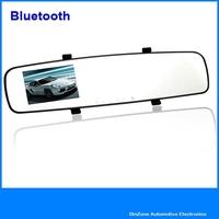 "2.7"" 1080P Full HD Car DVR Blackbox Camera Video Recorder With Bluetooth G Sensor Motion Detection Rear View Mirror Monitor"