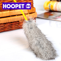 Pet toy slitless rabbit fur funny cat stick cat toy cat rod cat toy b