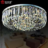 Modern led crystal lamp fashion brief ceiling light living room lights living room lamps 3040
